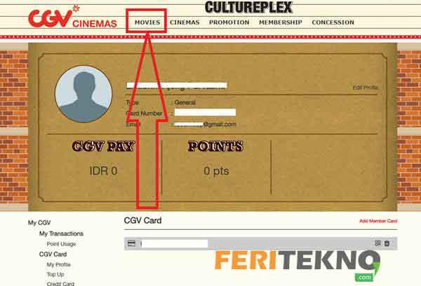 6 Cara Beli Tiket Bioskop Online Untuk Cgv Dan Cinema 21 Feri Tekno