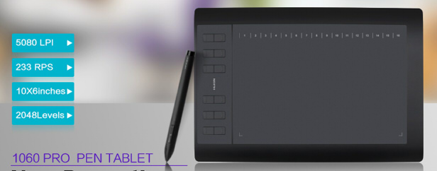 Huion 1060PRO+ Drivers Download - Huion Drivers Download