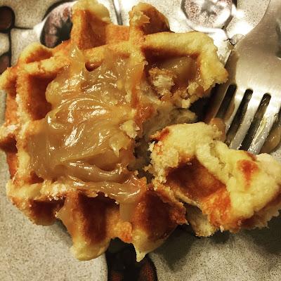 Julian's Recipe Belgian Pastry Waffles in my March Degustabox