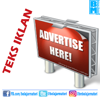 Teks Iklan (Fungsi, Struktur, Ciri Kebahasaan, dan Contoh Teks Iklan)