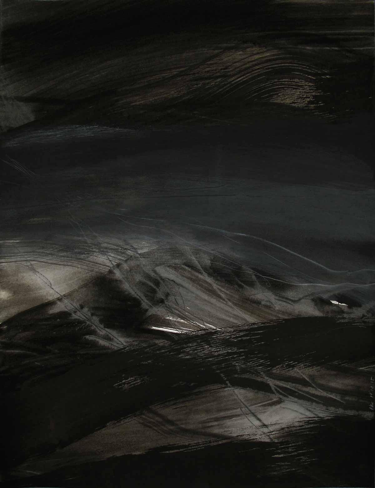 50 x 65 cm, aquarelle et encre de chine sur papier, 19 octobre 15