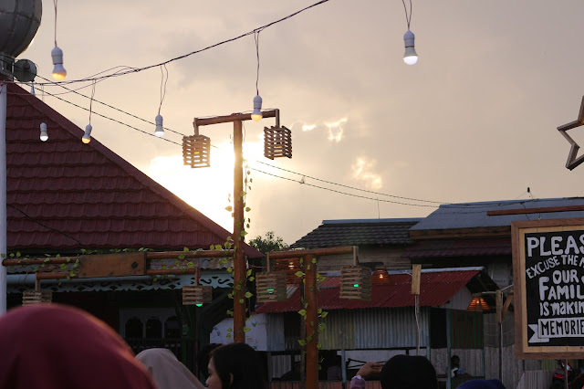 Sore di kampung wisata Kuantan