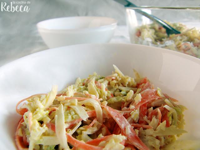 Ensalada de repollo (Coleslaw)