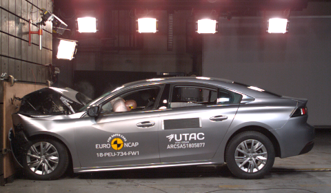 Crash Test Peugeot 508