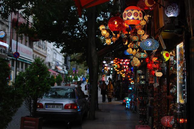 pretty street in Istanbul