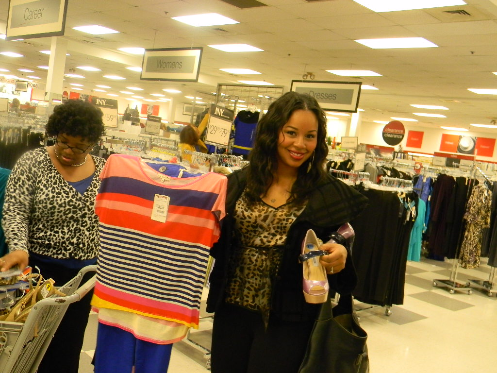 b01127bc2a6 TJ Maxx Party  Fashioning the New Year! - Baby Shopaholic
