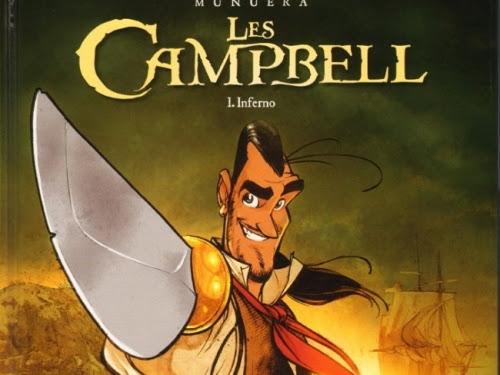 Les Campbell, tome 1 : Inferno de José-Luis Munuera