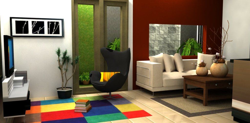 Desain Interior Ruang Tamu Minimalis Desain Gambar