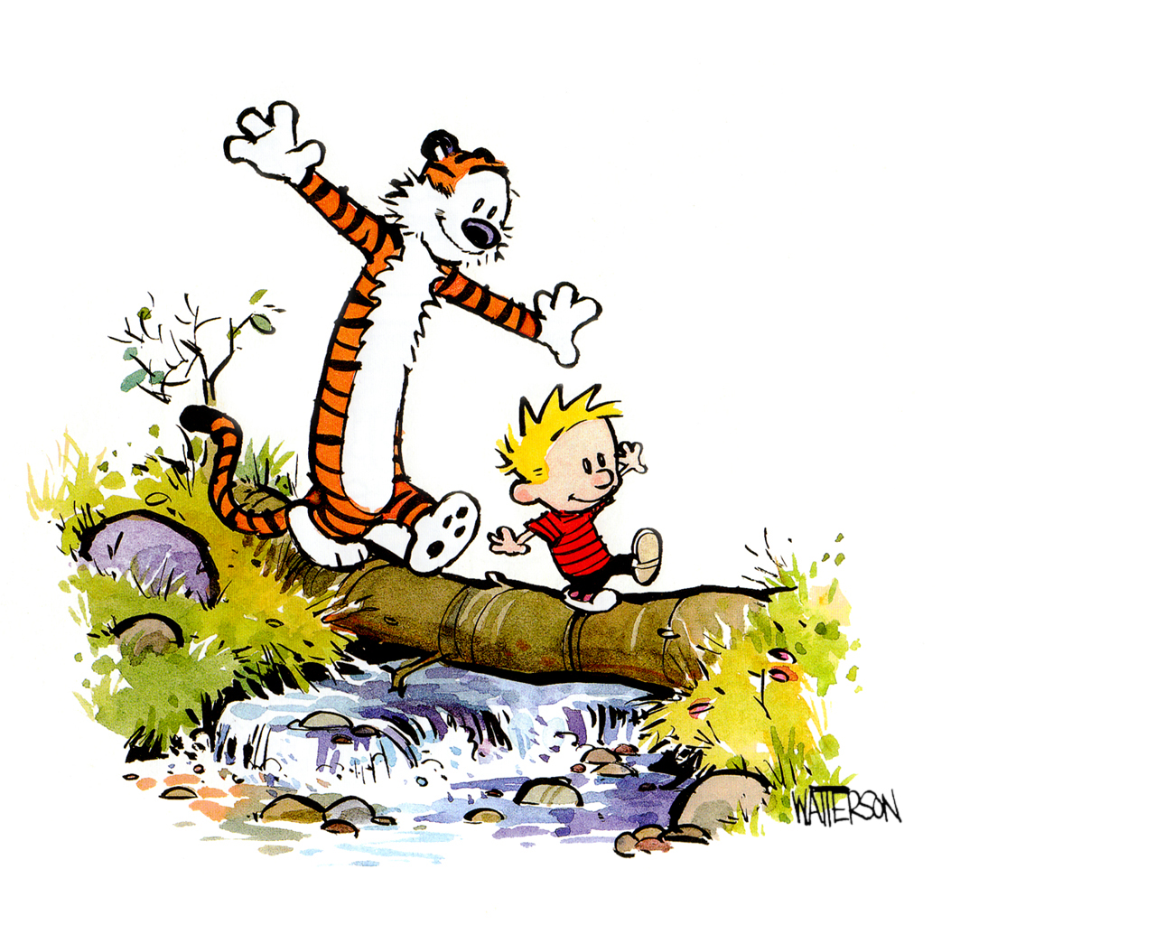 Home*School*Home: Calvin and Hobbes.