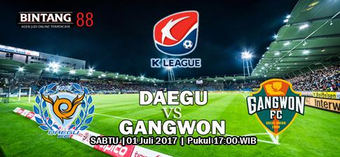 Prediksi Daegu FC vs Gangwon FC - 01 Juli 2017
