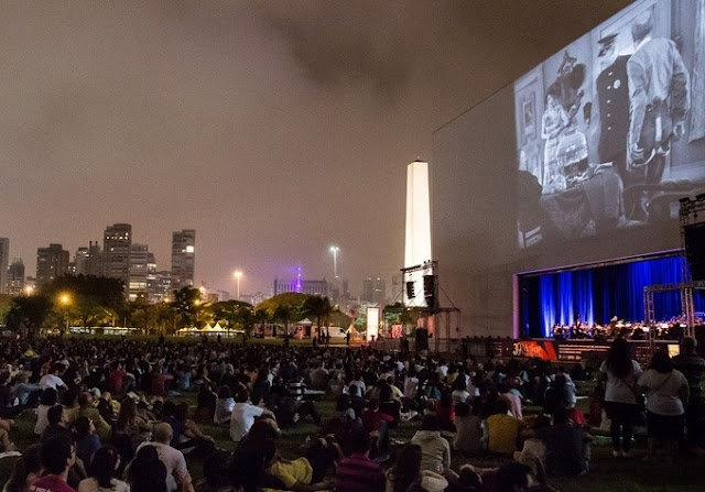 Cinema no Ibirapuera