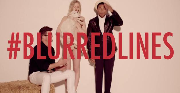 Blurred Lines causa dor de cabeça a Robin Thicke e Pharrell Williams!