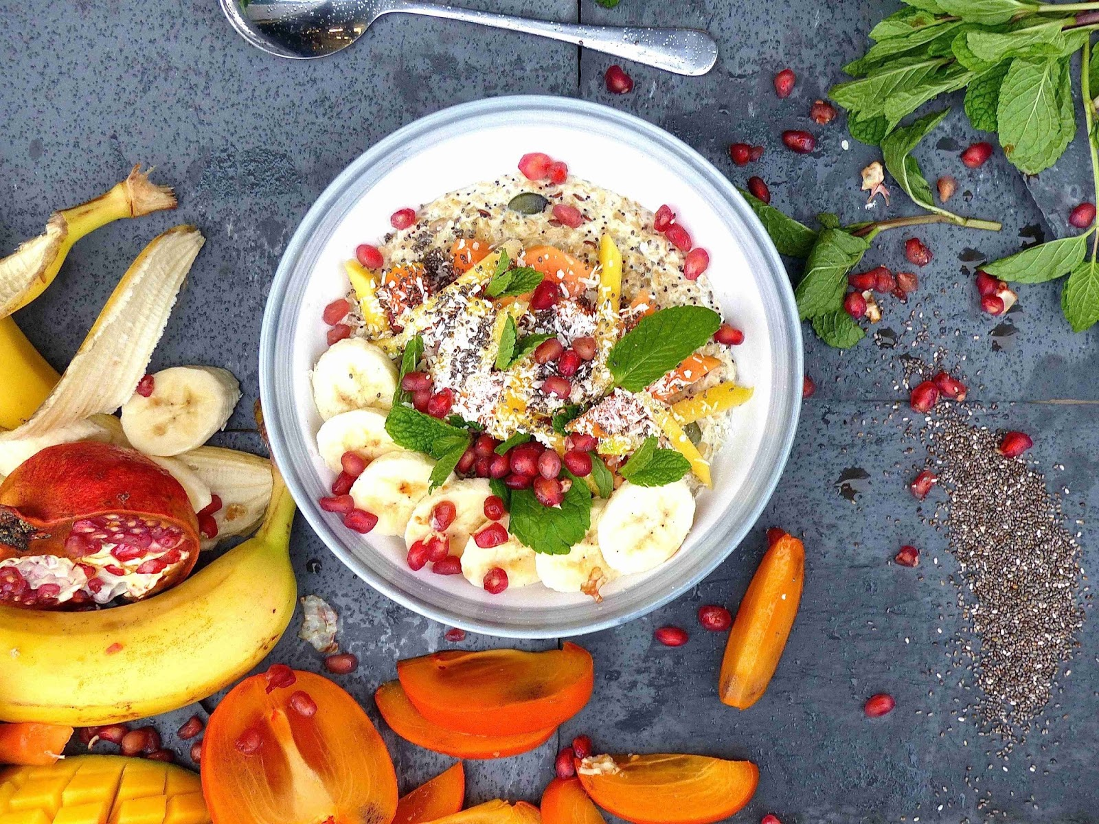 How To Make Nutritious, Fresh and Fruity Tropical Porridge