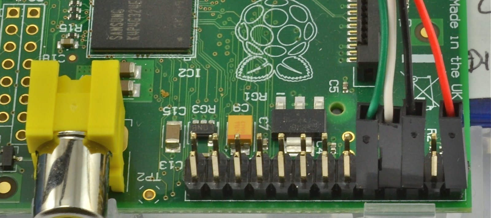 Raspberry Pi Developers Guide Gpio Wiringpi Serial Now Plug In The Usb Lead Power Adaptor Is Removed And You Will See Pis Led Should Light