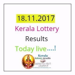 Karunya lottery result 18.11.2017-kR 18/11/2017