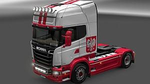 Scania Poland skin mod