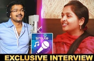 Dedicate this Mashup to Thalapathy Vijay | Smule Fame Roja Adithya Exclusive Interview