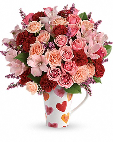 The Art of Random Willy-Nillyness: Valentine\'s Day with Teleflora ...