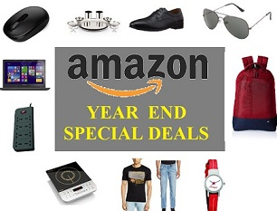 Year End Special Deal on Products from All Categories @ Amazon