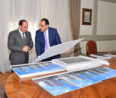 Minister of Housing to President Sisi: 470,000 housing units for middle income in the administrative capital