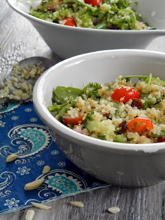 http://cestempscicuisine.blogspot.ca/2015/03/salade-de-quinoa-et-roquette.html