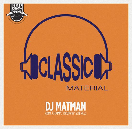 DJ Matman 'Classic Material: 1995' (Vol. 1 & 2)