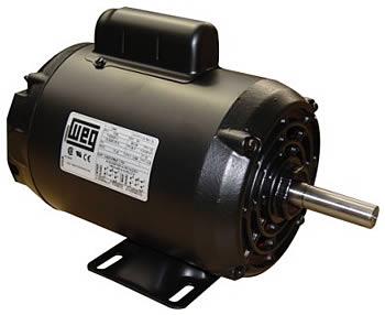 foto motor weg monofasico com capacitor