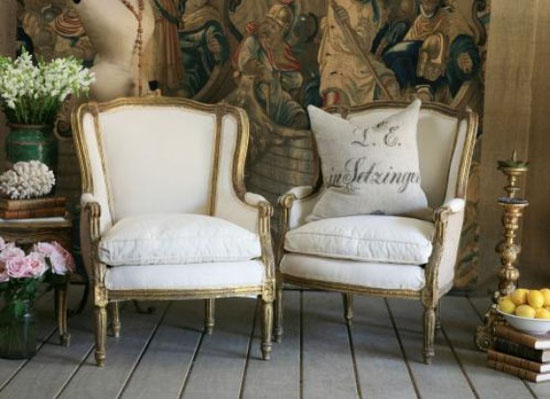 Eye For Design Decorating With The French Bergère Chair