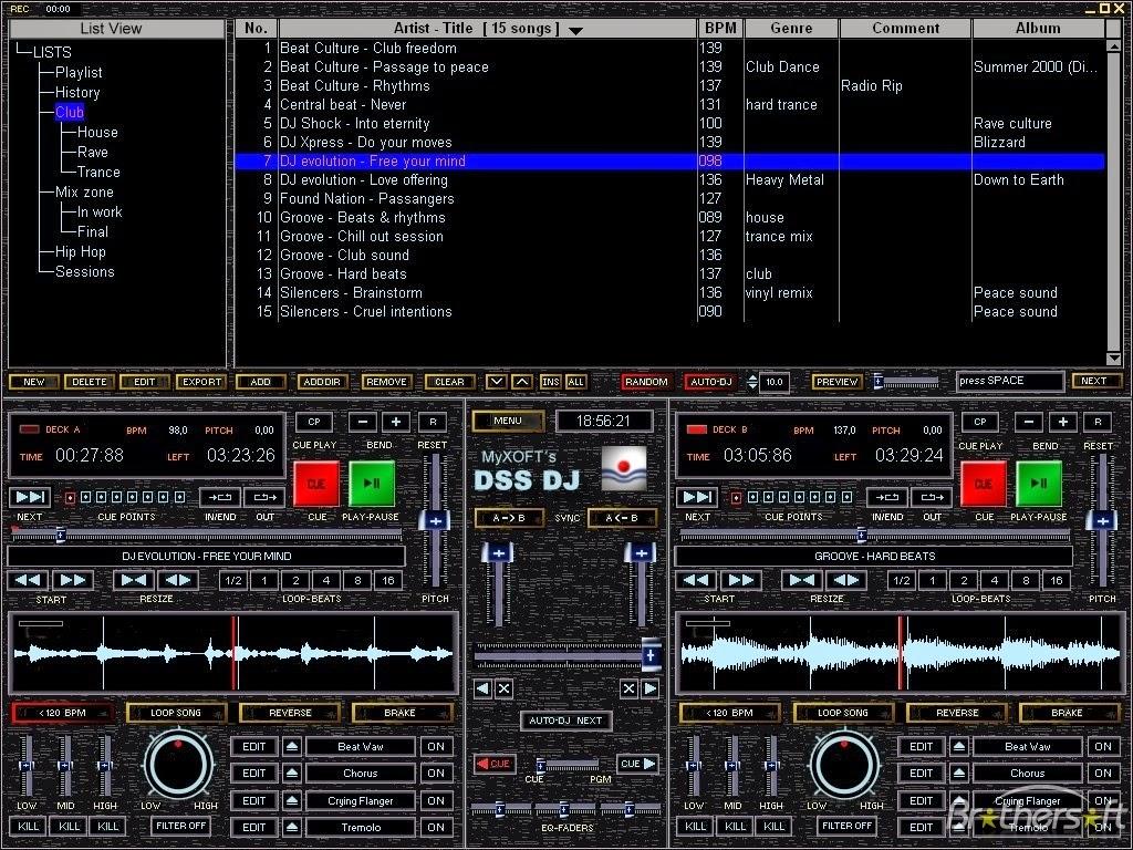 DSS DJ 5.6 GRATUITEMENT TÉLÉCHARGER