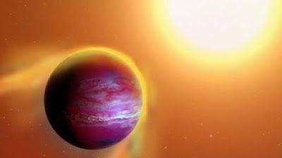 Um jovem planeta mais novo do que os seres humanos já está morrendo
