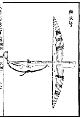 Ming Chinese one-foot crossbow