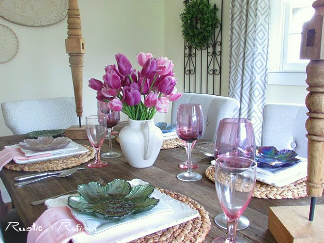 Mothers Day Tablescape Ideas