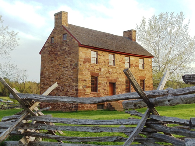 Stone House at Manassas Battlefield Park
