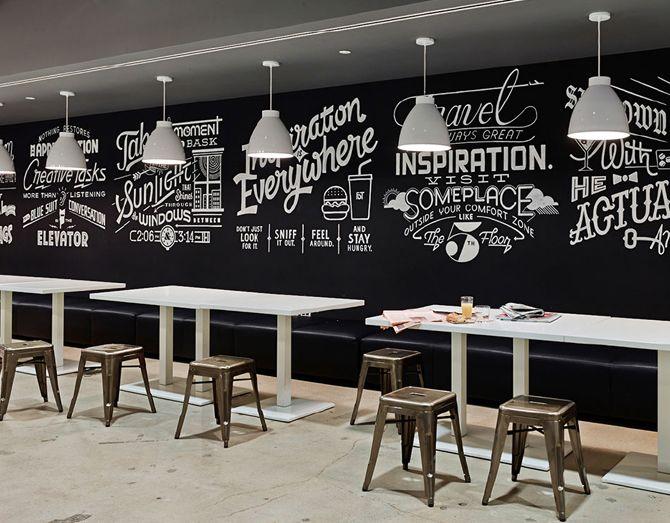 Lukisan cafe dan restoran masa kini for Mural untuk cafe
