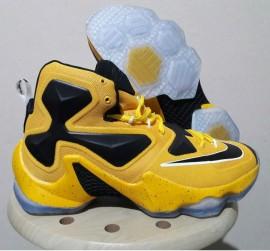 Sepatu Basket Nike LeBron 13 Bumblebee
