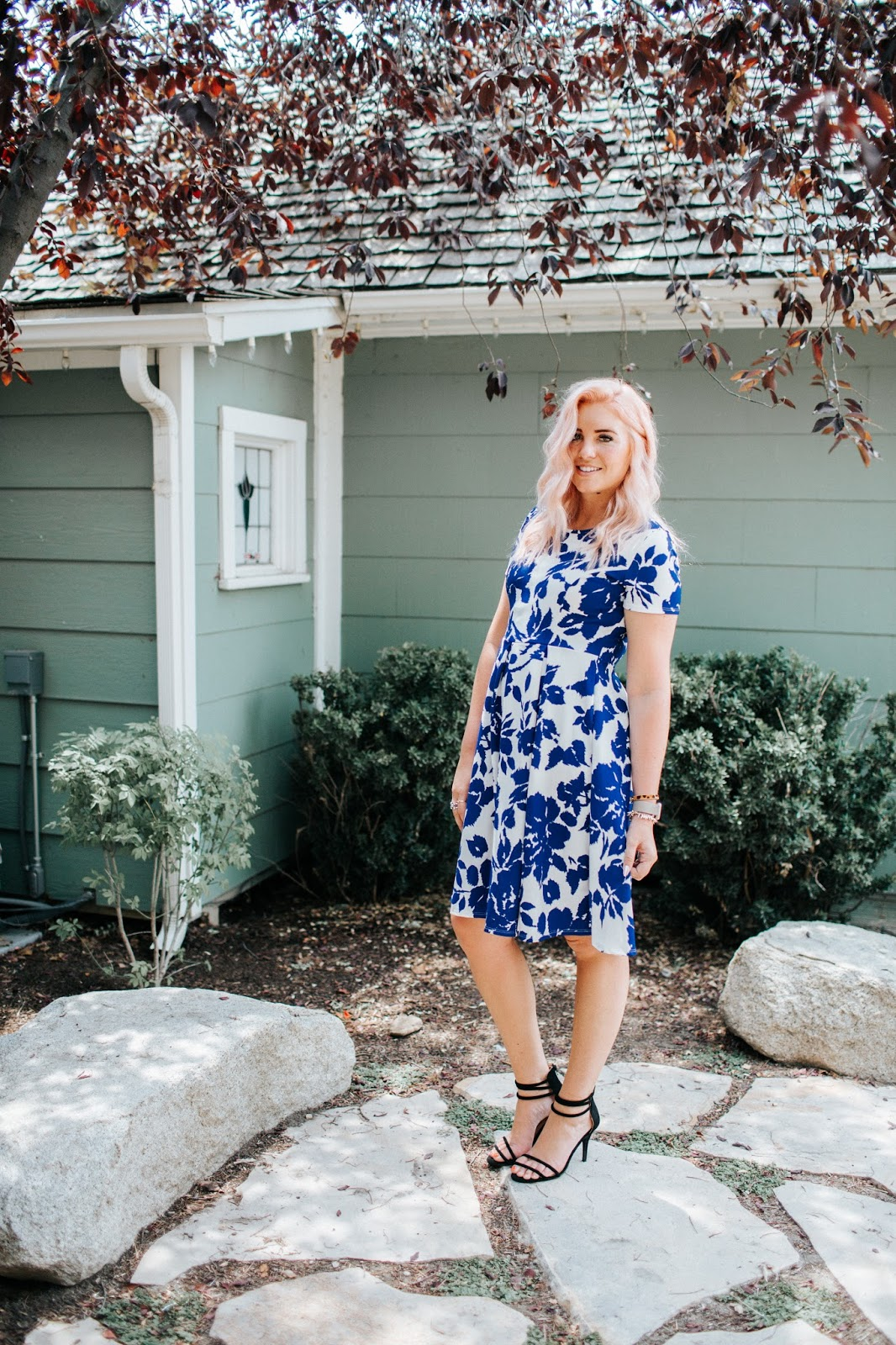 SeneGence Dress, Royal Blue Dress, Utah Fashion Blogger