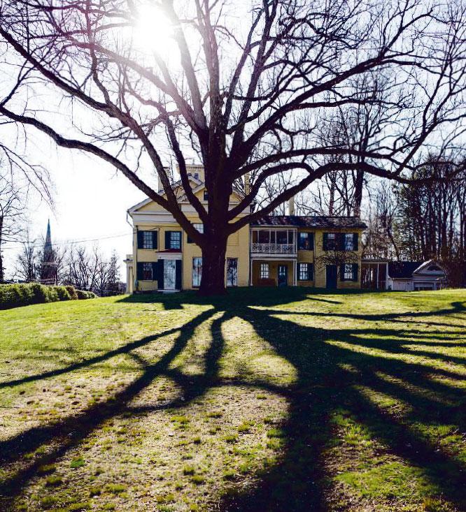 Casa de Emily Dickinson en Amherst. Foto de Pascal Perich
