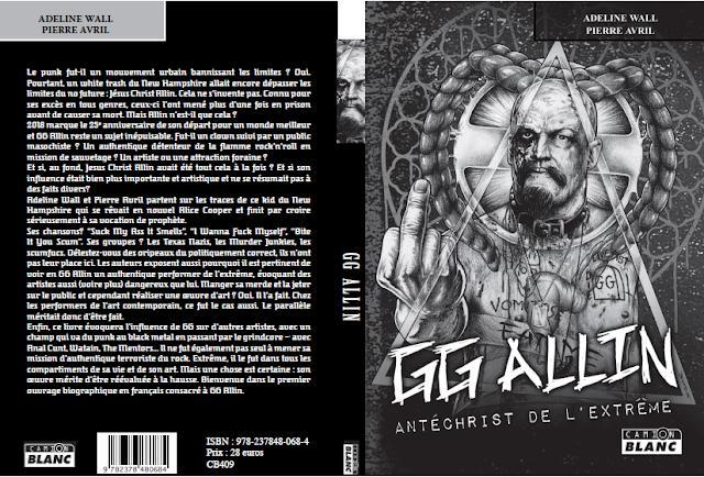 Commander GG ALLIN Antéchrist de l'extrême