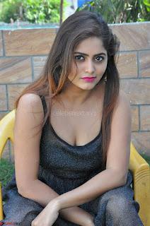 Pragya Nayan New Fresh Telugu Actress Stunning Transparent Black Deep neck Dress ~  Exclusive Galleries 068.jpg