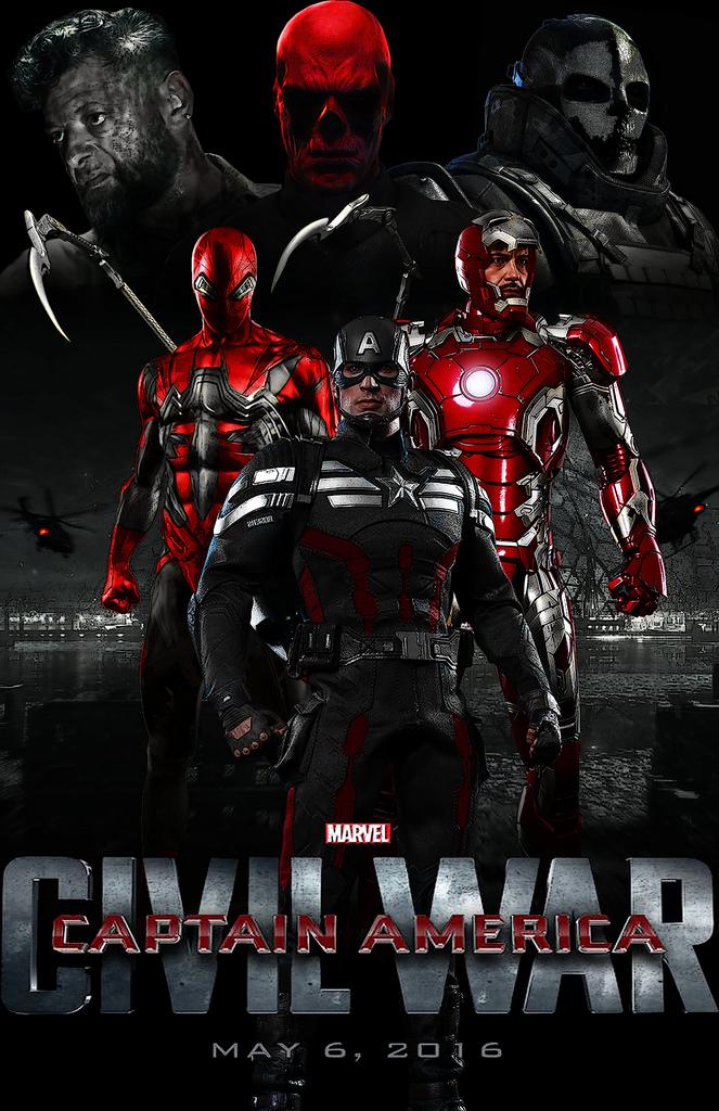 Captain America: Civil War กัปตันอเมริกา: ซีวิลวอร์ [HD]