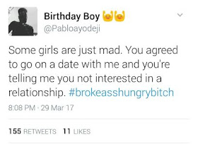 Man Takes Lady Out To The Movies, Goes On Twitter To Rant And Her Response Is Epic