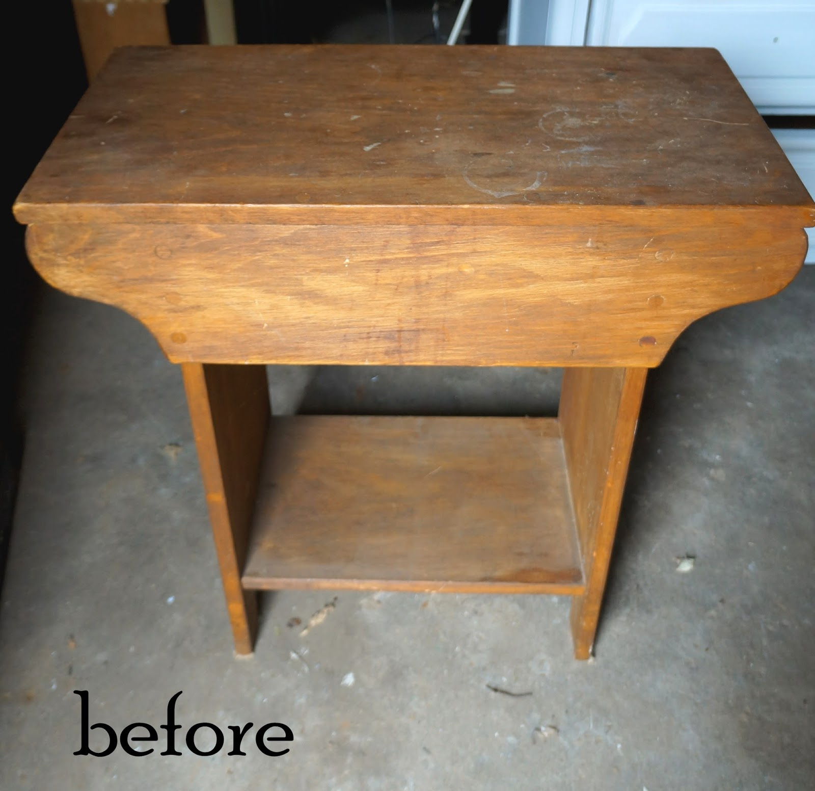 Kammy s Korner A Rustic Little Table For The Horse Lover