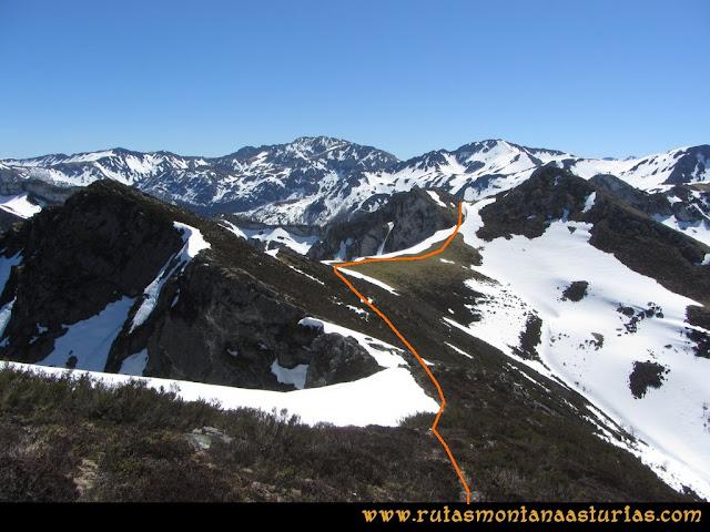 Ruta Belerda-Visu La Grande: Bajando