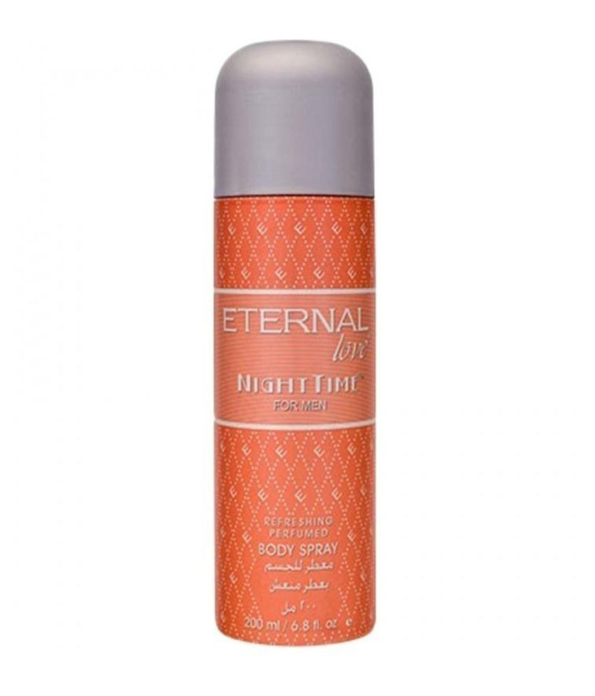 Eternal Love Night Time For Men Body Spray 200 ml
