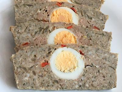 Pieczeń wieprzowa z jajkiem