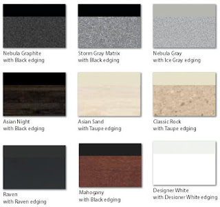 Mayline RGE Table Finish Combinations