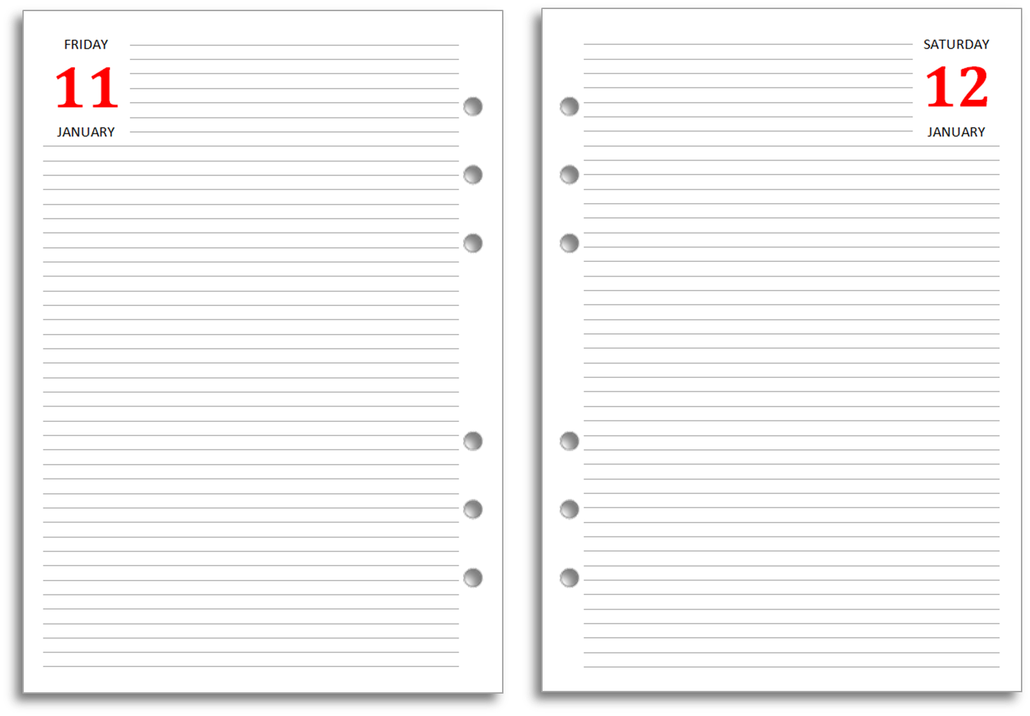 My Life All in One Place: How to Use a Filofax