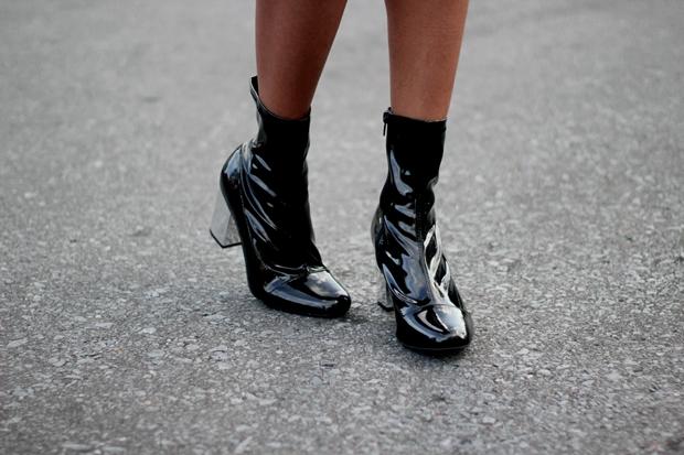 como usar bota de verniz
