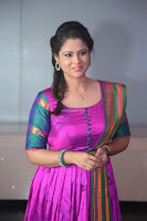 Shilpa Chakravarthy in Purple tight Ethnic Dress ~  Exclusive Celebrities Galleries 021.JPG