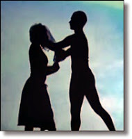 Picture of man and woman dancing